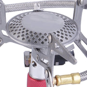 Gas-Powered Camping Stove with Piezo Ignition - Peak Gear Co
