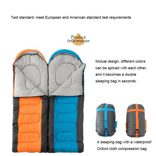 Portable Camping Sleeping Bag - Peak Gear Co