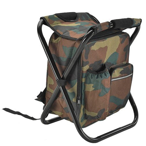 Folding Stool Portable Backpack - Peak Gear Co