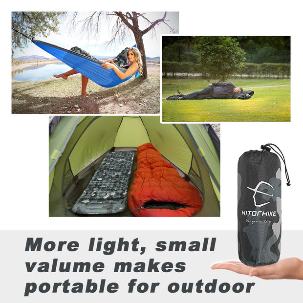 Inflatable Mattress with Pillow - Peak Gear Co