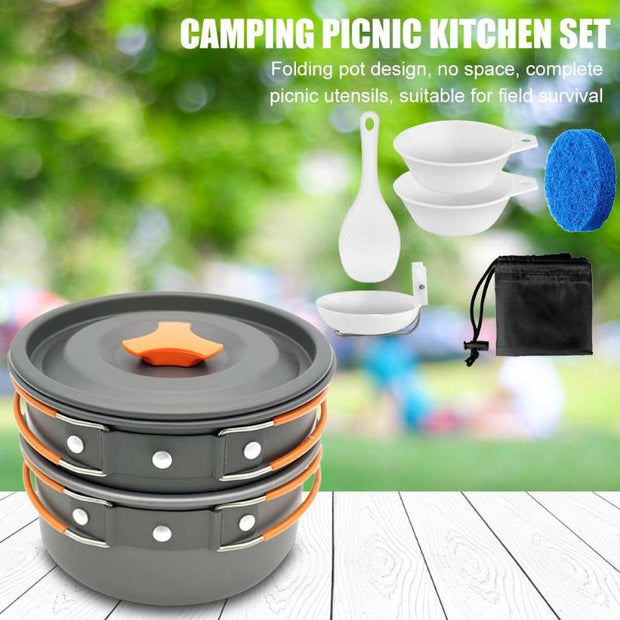 Portable Pot Cookware Set - Peak Gear Co
