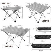 Portable Table Folding Camping Table - Peak Gear Co