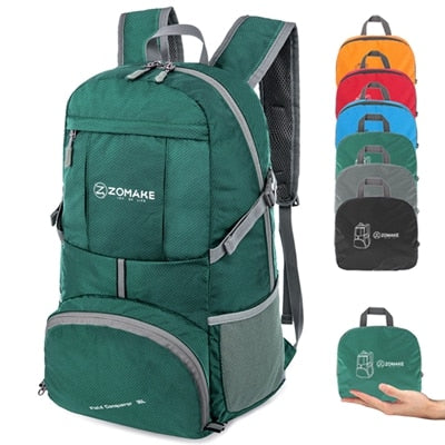 35L Portable Folding Backpack - Peak Gear Co