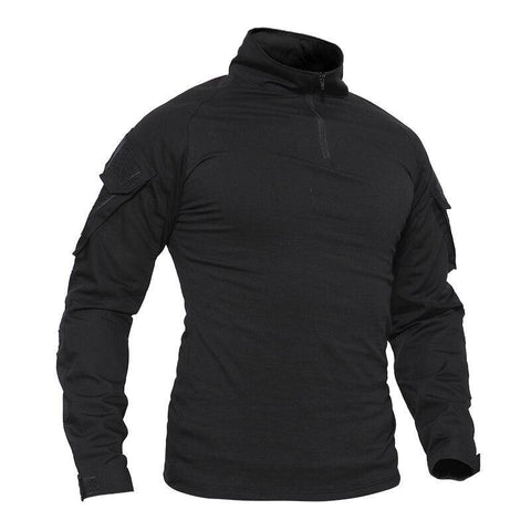 Tactical Long Sleeve Quick Dry Performance Shirt - Camo - Peak Gear Co