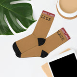 1st Place Basic Logo Socks (Bronze)