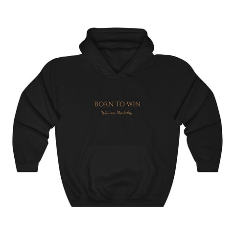 *BORN TO WIN* Unisex Hoodie (multiple colors) (sizes S-3XL)