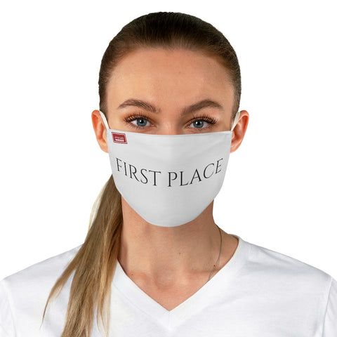 FIRST PLACE Face Mask (White)