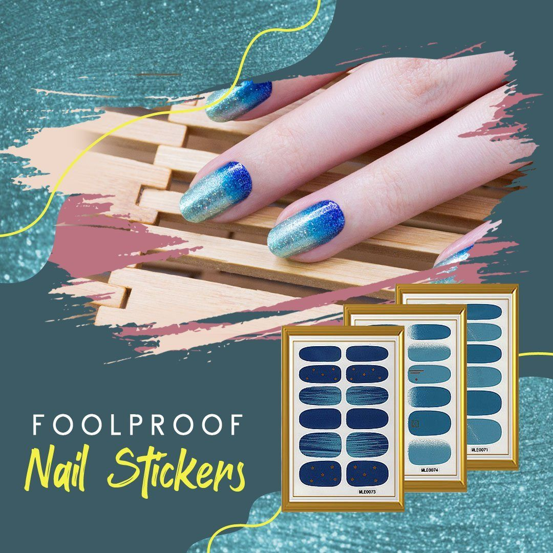 Foolproof Nail Sticker