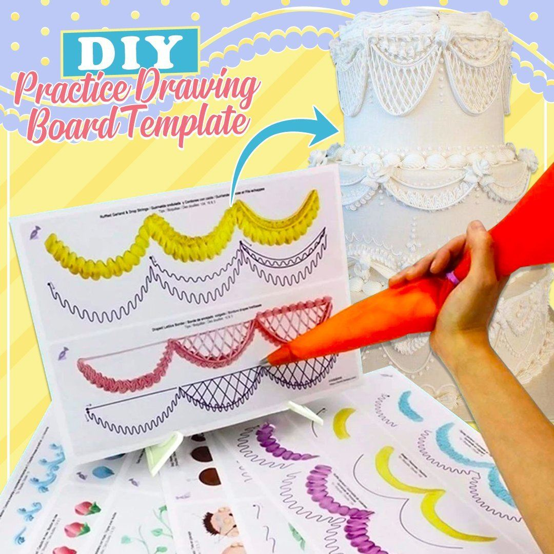 DIY Reusable Practice Drawing Template
