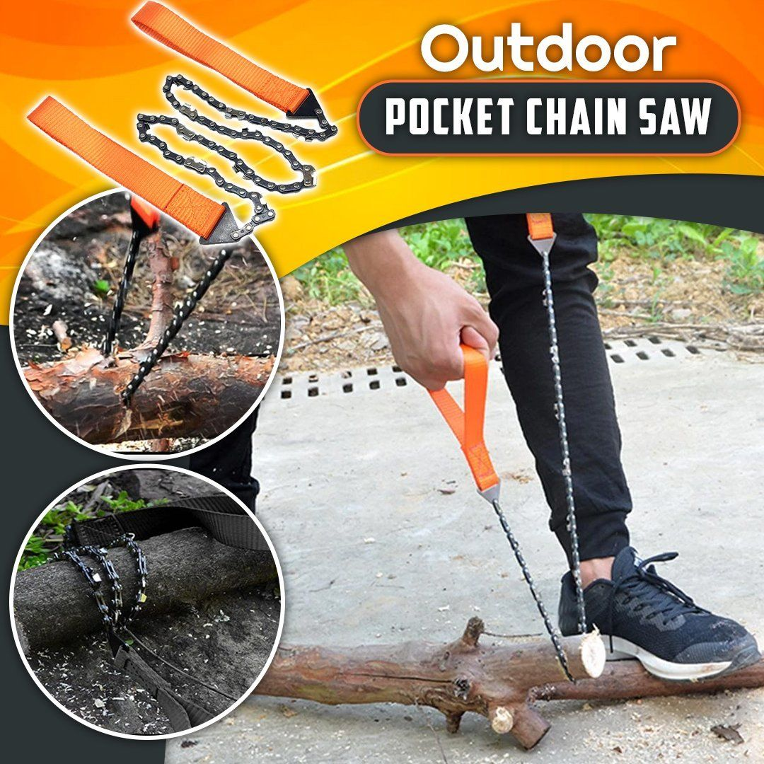 Outdoor Pocket Chain Saw