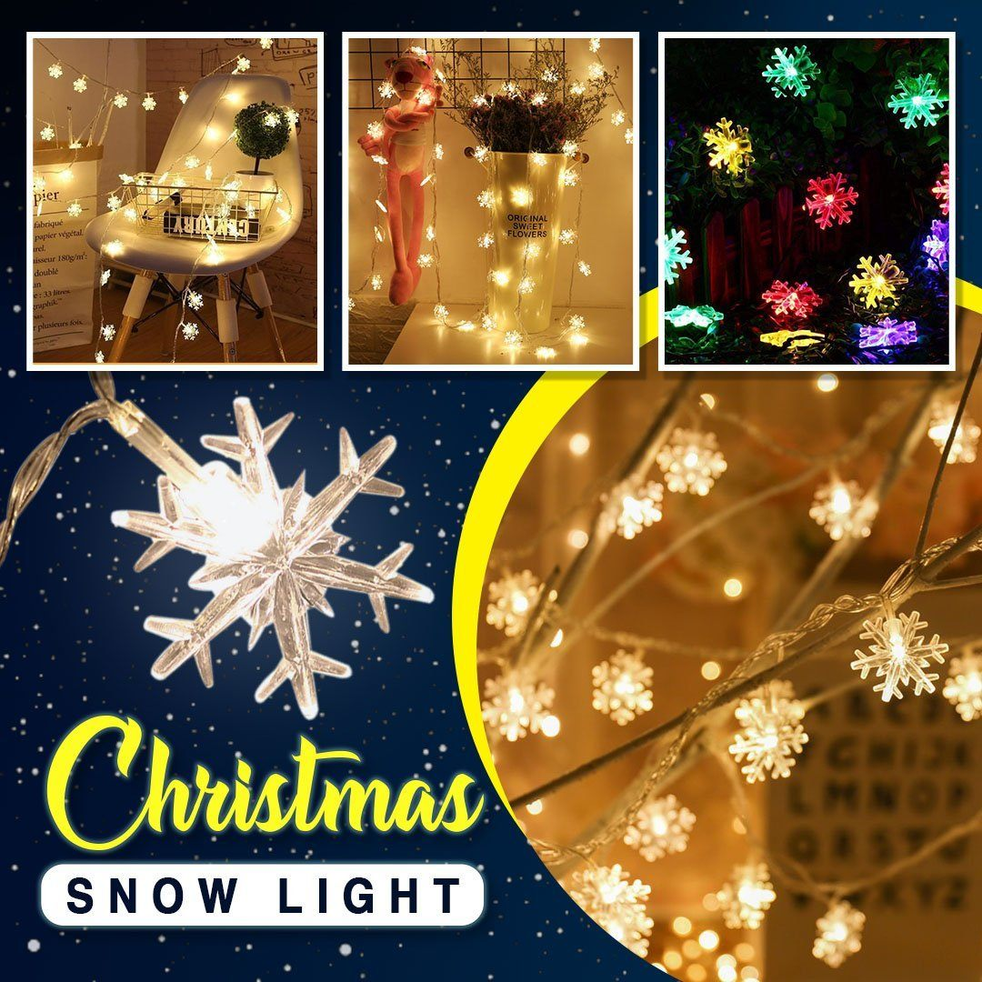 LED Christmas Snow Light