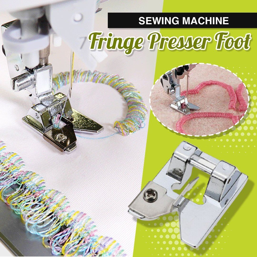 Sewing Machine Fringe Presser Foot