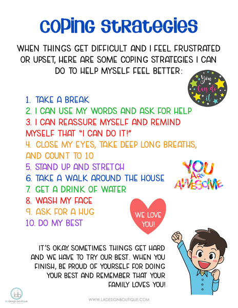 Coping Strategies for Kids and Adults