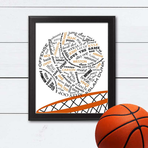 unique gift ideas for the basketball lover