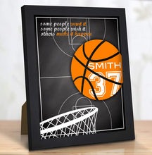 Load image into Gallery viewer, Custom Basketball Gifts for Coach or Teammate with Inspirational Quote