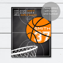Load image into Gallery viewer, personalized basketball with name gift