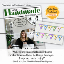Load image into Gallery viewer, easter banner diy