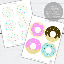 Load image into Gallery viewer, donut party banner