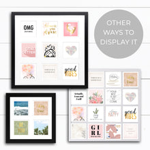 Load image into Gallery viewer, home office wall decor inspiration