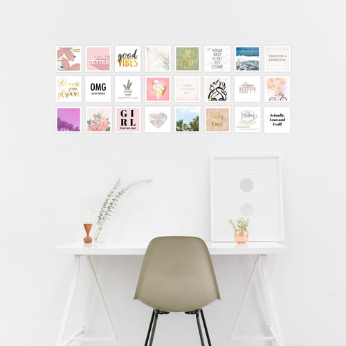 instagram wall art collage for her