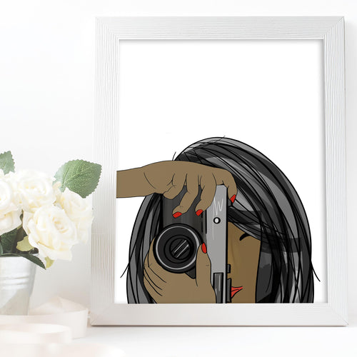 photographer art gift
