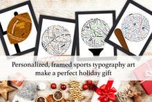 Load image into Gallery viewer, Softball Gifts, Softball Gifts for Players, Softball Gifts for Coaches, Team Gift, Personalized Sports, Custom Art, End of the Season