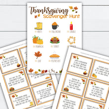 Load image into Gallery viewer, Thanksgiving Scavenger Hunt