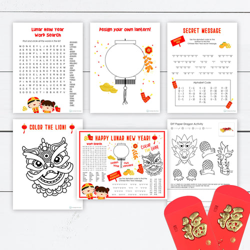 lunar new year activity bundle
