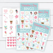 Load image into Gallery viewer, valentines day bingo