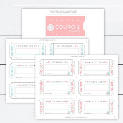 love coupon book
