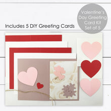 Load image into Gallery viewer, craft card making for valentines day