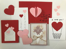 Load image into Gallery viewer, diy greeting cards for valentines day