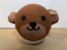 Load image into Gallery viewer, cute paper mache diy bear