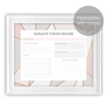 Load image into Gallery viewer, personalized vision board planner