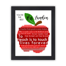 Load image into Gallery viewer, Personalized Teacher Appreciation Gift Idea