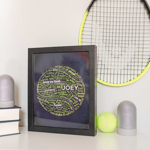 tennis wall decor for bedroom