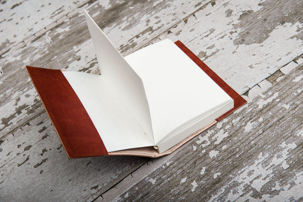 Refillable OM Handmade Leather Journal