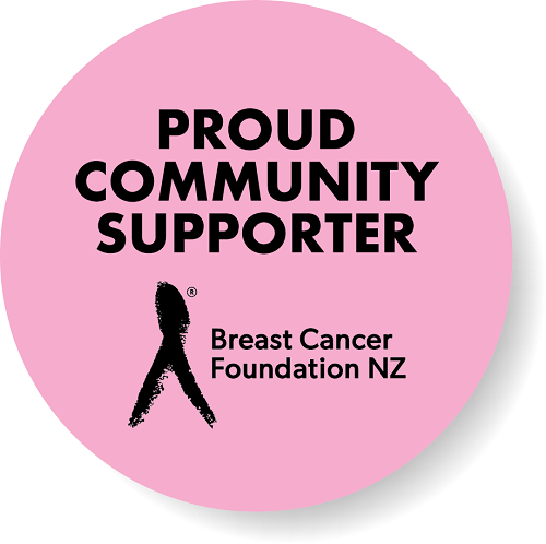 Supporting New Zealand Breast Cancer Foundation