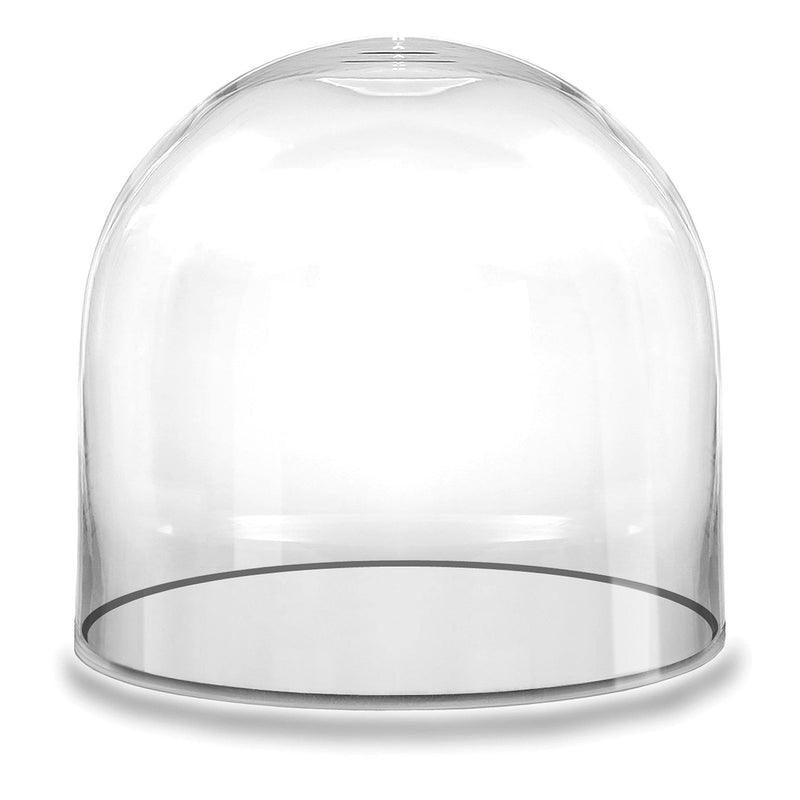 "Clear Glass Cloche Dome D-12"" H-12"" - Pack of 1 PC"