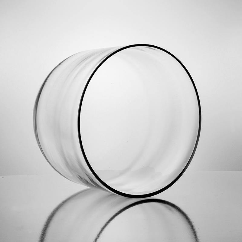 "Clear Glass Cloche Dome D-15"" H-12"" - Pack of 1 PC"