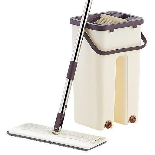 Microfiber Flat Mop With Bucket (New Model)