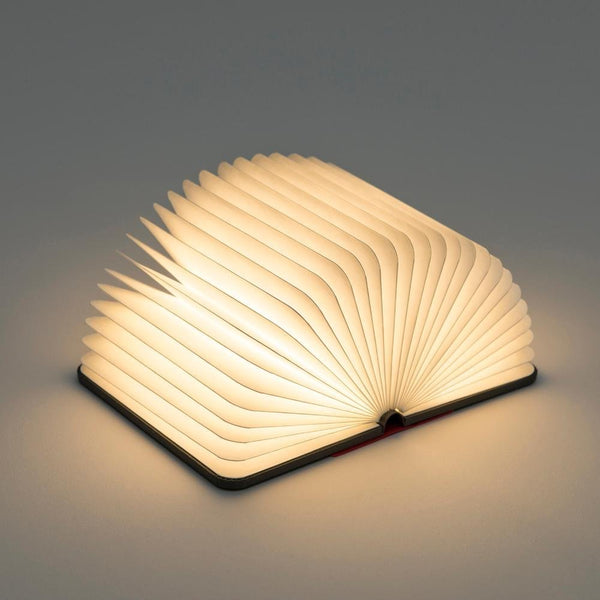 Soft Wood Book Lamp - (Foldable)