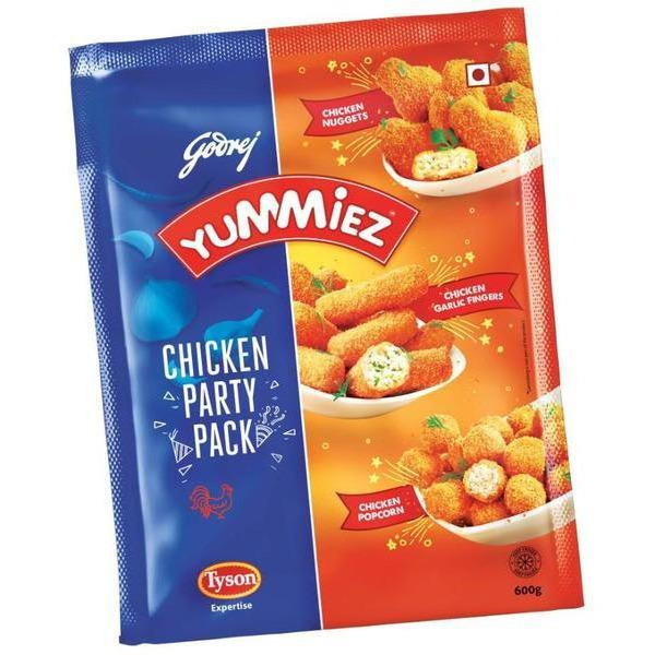 Ready To Eat - Godrej Yummiez- Chicken Party Pack (600 Gms)