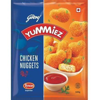 Ready To Eat - Godrej Yummiez- Chicken Nuggets (750 Gms)
