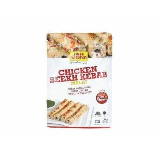 HoiPure - Swiss Naturen - Swiss Naturen - Chicken Seekh Kebab Malai (400 gms)
