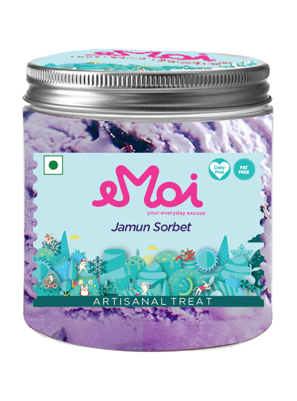 Emoi Ice Cream - Jamun Sorbet (450ml)