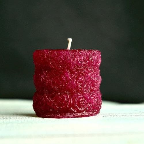 Decoration Candle - Rose Design Candle