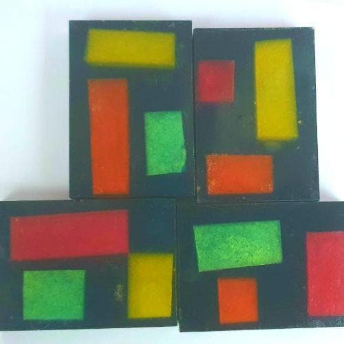 Stained Glass Soap