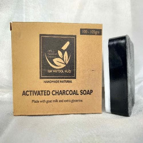 Activated Charcoal Soap - Skin Cleanser