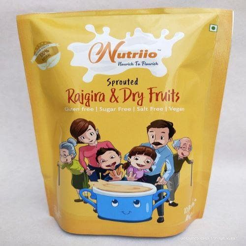 Sprouted Rajgira & Dry Fruits Mix